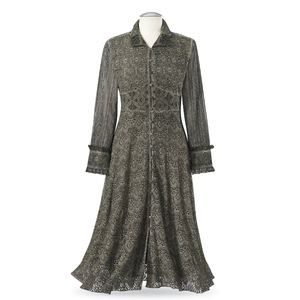 🎃 Mossy Green Lace Victorian Costume Jacket